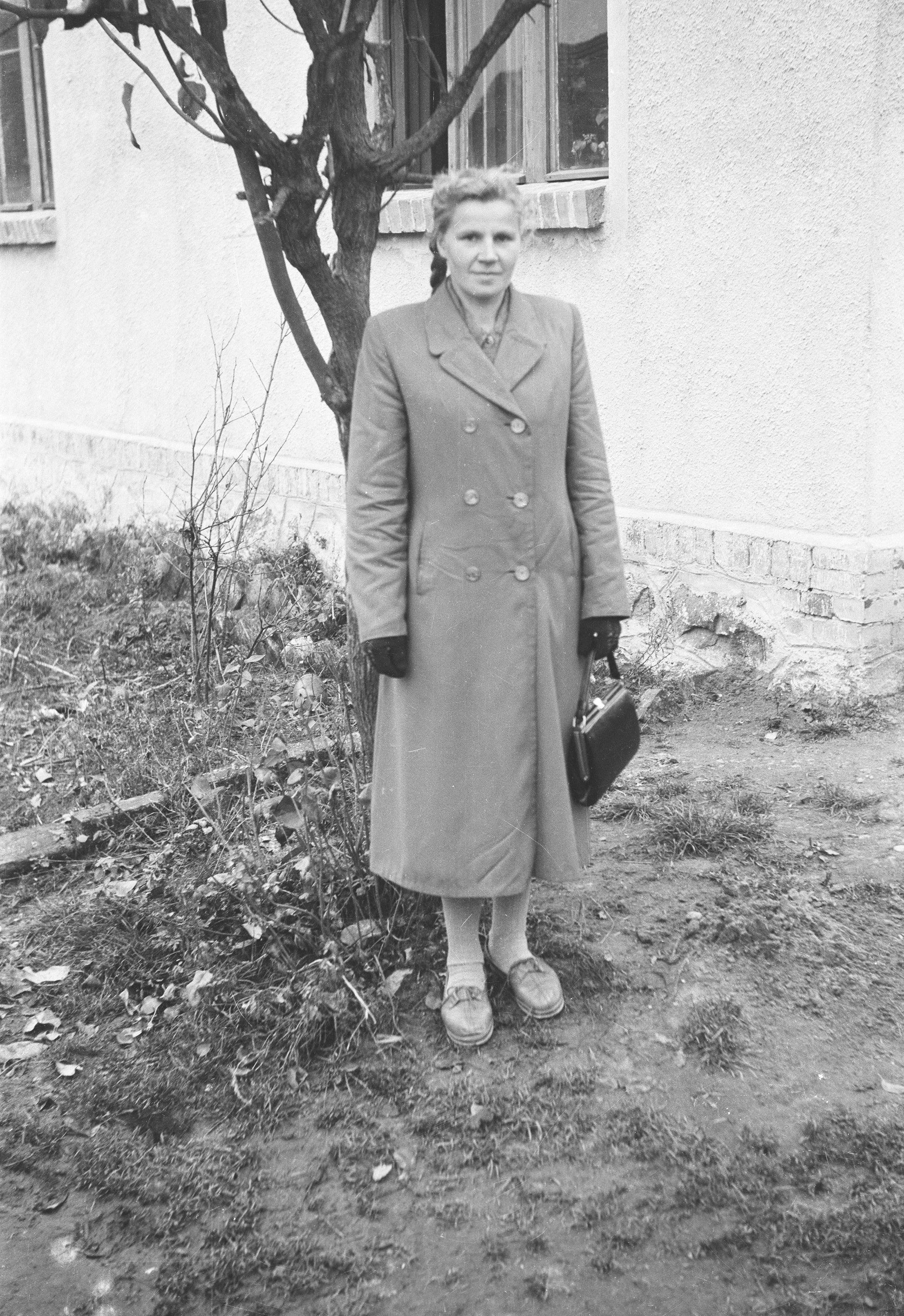 Janina Bieńko, Brzózka, Dolny Śląsk, lata 50. XX w.