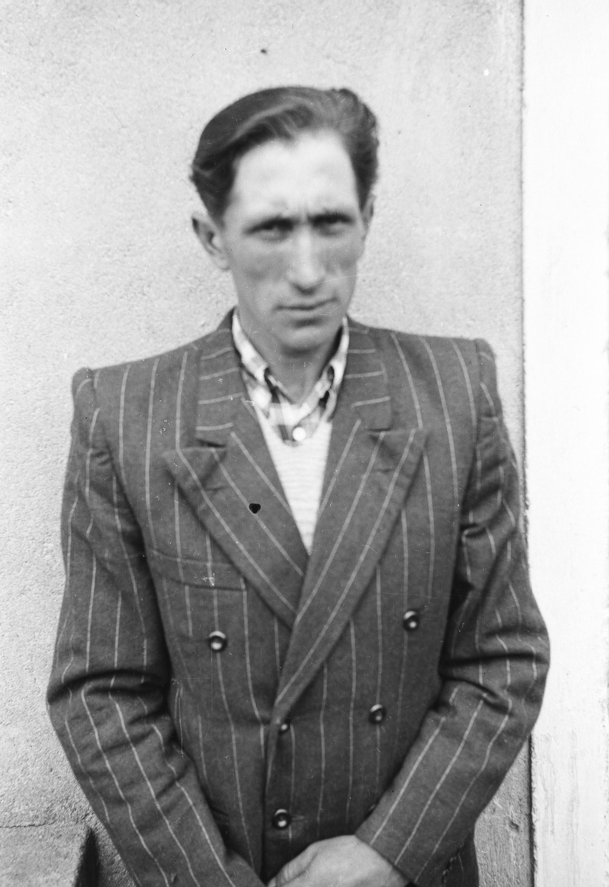 Portret mężczyzny, Dolny Śląsk, 2. poł. XX w.
