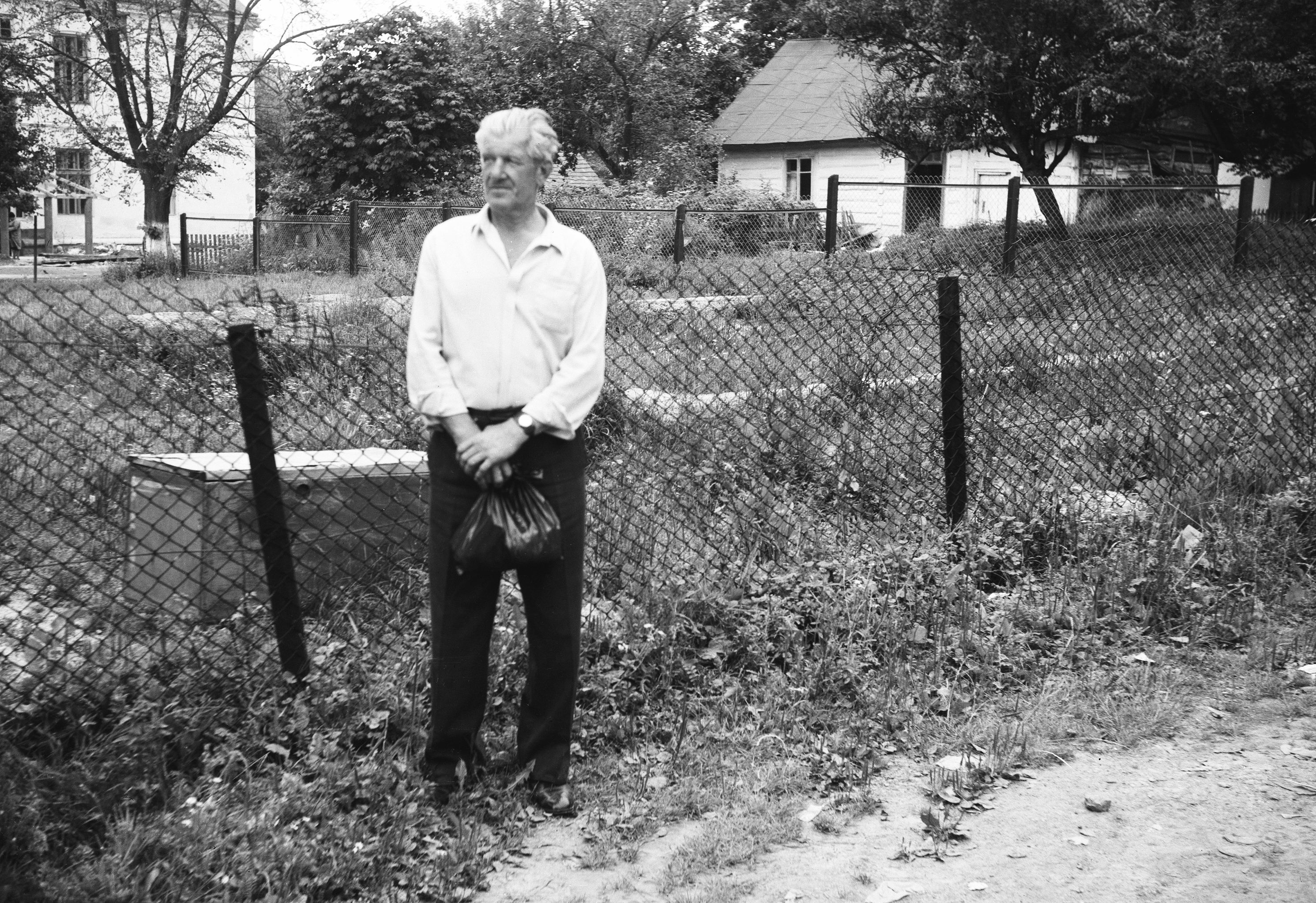 Zdjęcie mężczyzny, Dolny Śląsk, 2. poł. XX w.