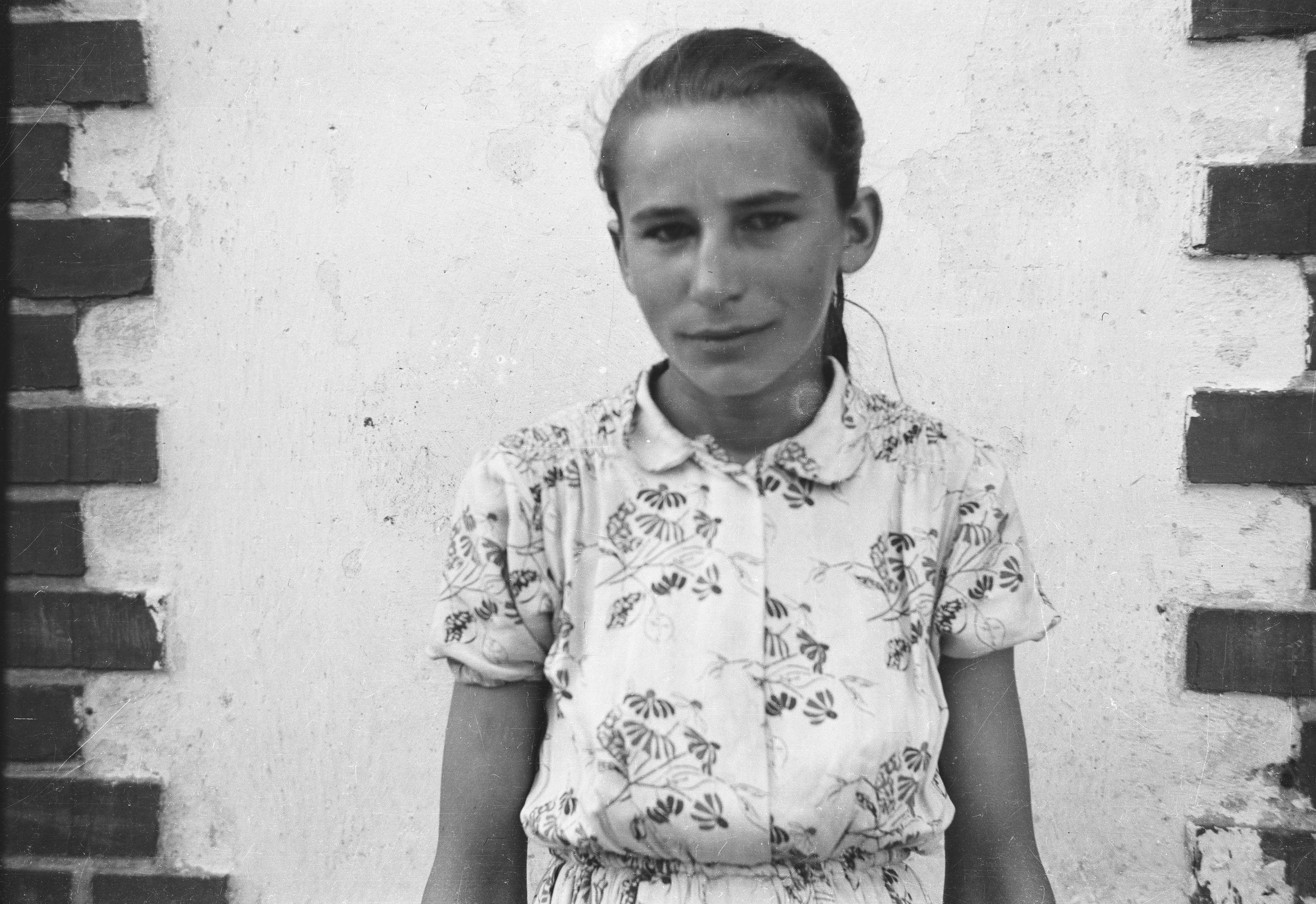Marysia Gardoń, Stryjno, Dolny Śląsk, lata 50. XX w.