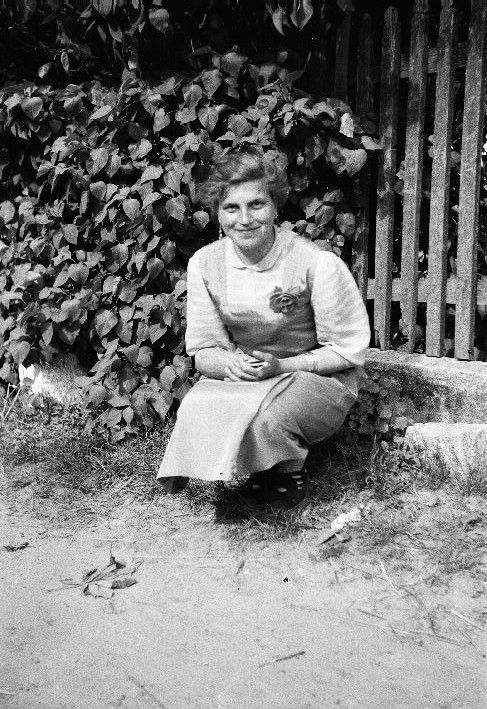 Lida Mogiła, Brzózka, Dolny Śląsk, lata 50. XX w.