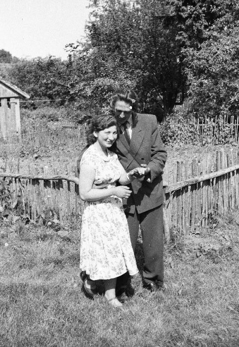 Basia Olszewska i Janek Rokicki, Strupina, Dolny Śląsk, lata 50. XX w.
