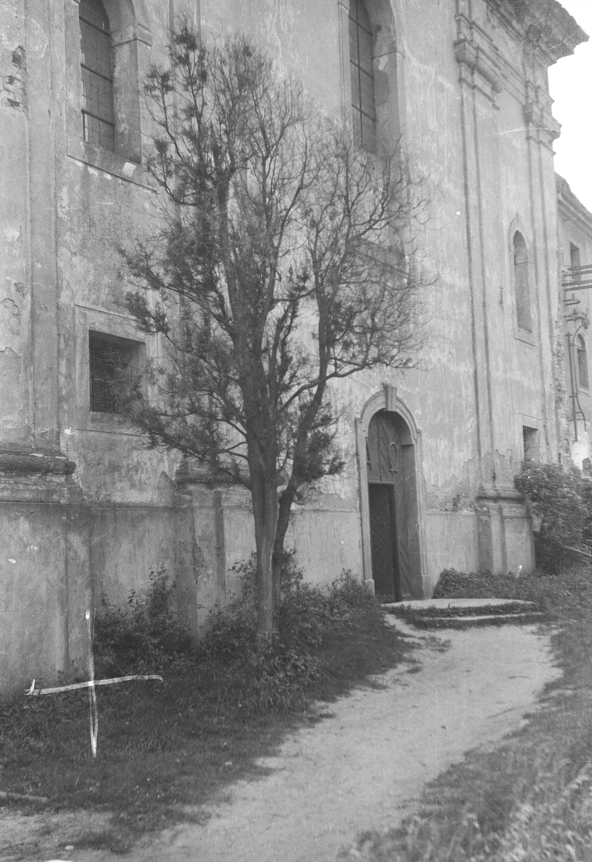 Kościół w Głębowicach, Dolny Śląsk, 1957 r.