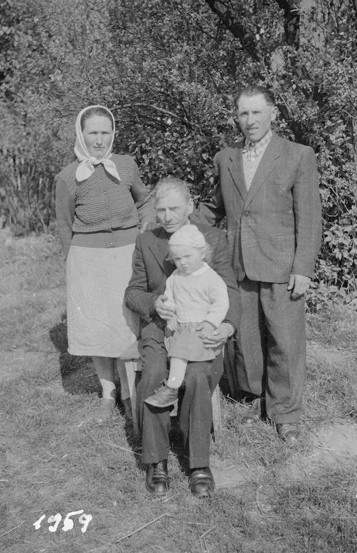 Zdjęcie rodzinne, Dolny Śląsk, 2. poł. XX w.