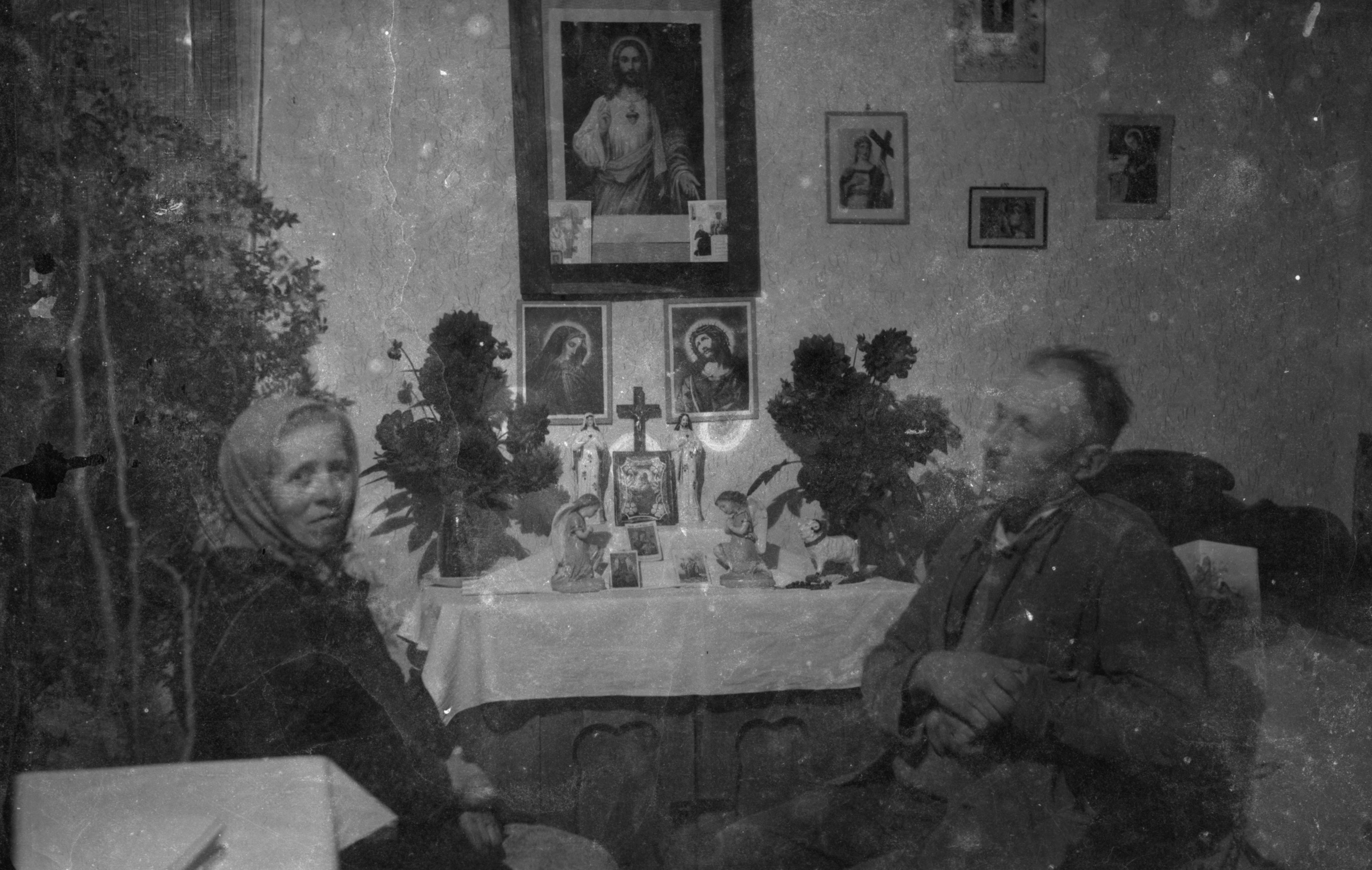 Czyżowicze przy dewocjonaliach, Brzózka, Dolny Śląsk, 2. poł. XX w.