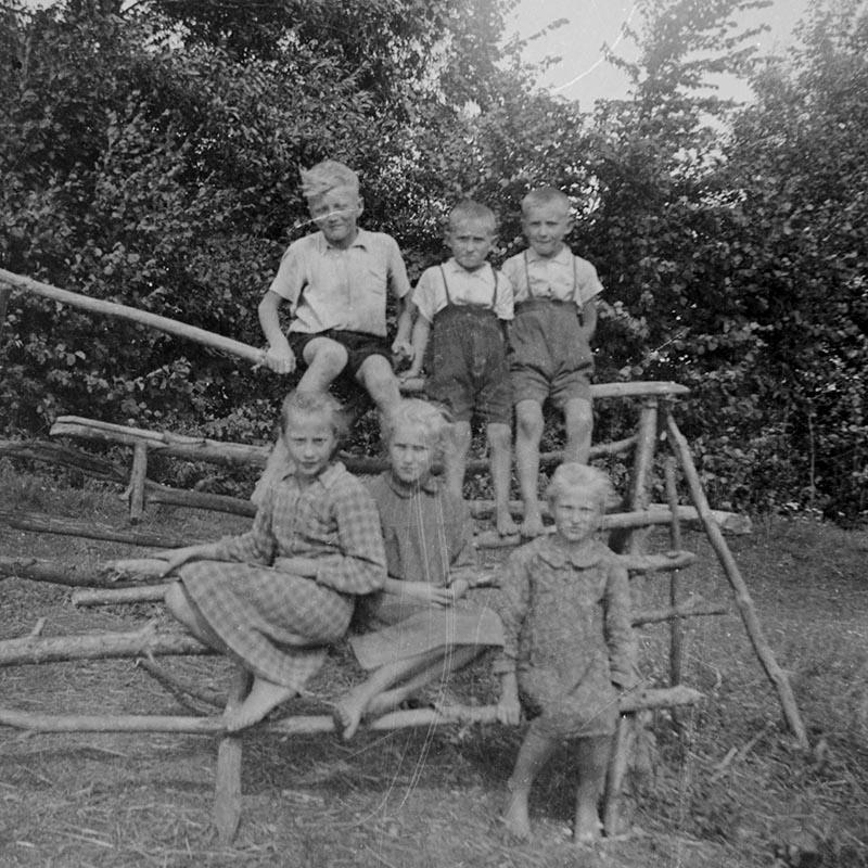 Zdjęcie dzieci, Dolny Śląsk, 2. poł. XX w.