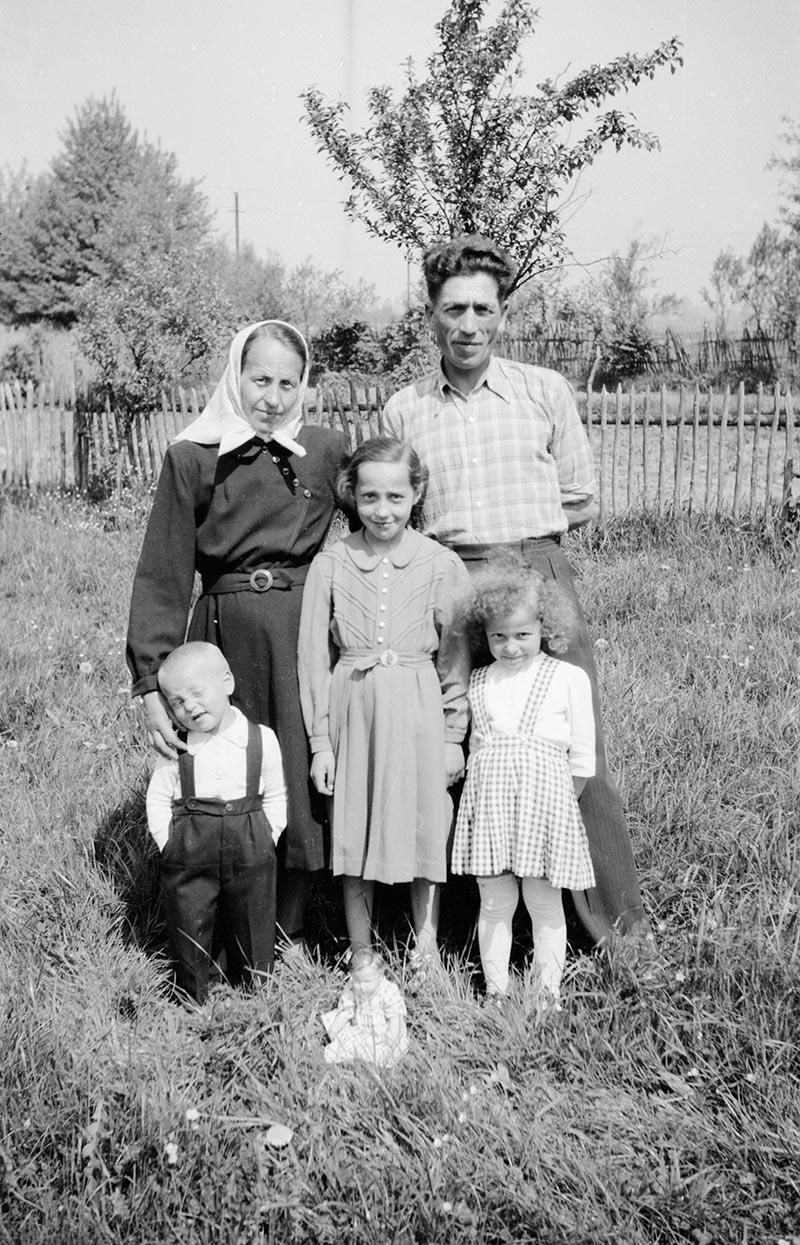 Brzózka, Dolny Śląsk, koniec lat 50. XX w.