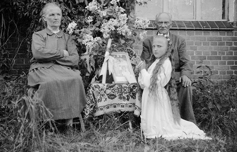 Rodzina Grzeczkowiczów Straszowice, Dolny Śląsk, koniec lat 50. XX w.
