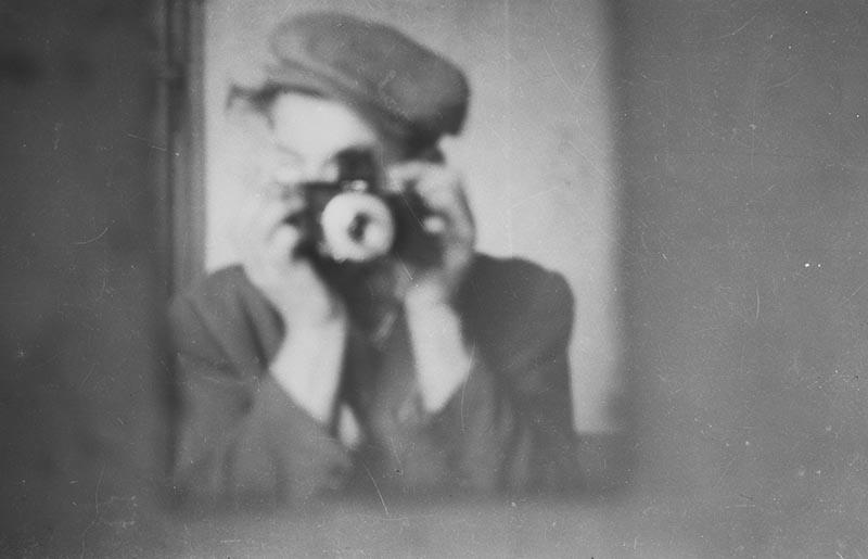 Augustyn Czyżowicz - autoportret, Brzózka, Dolny Śląski, koniec lat 50. XX w.