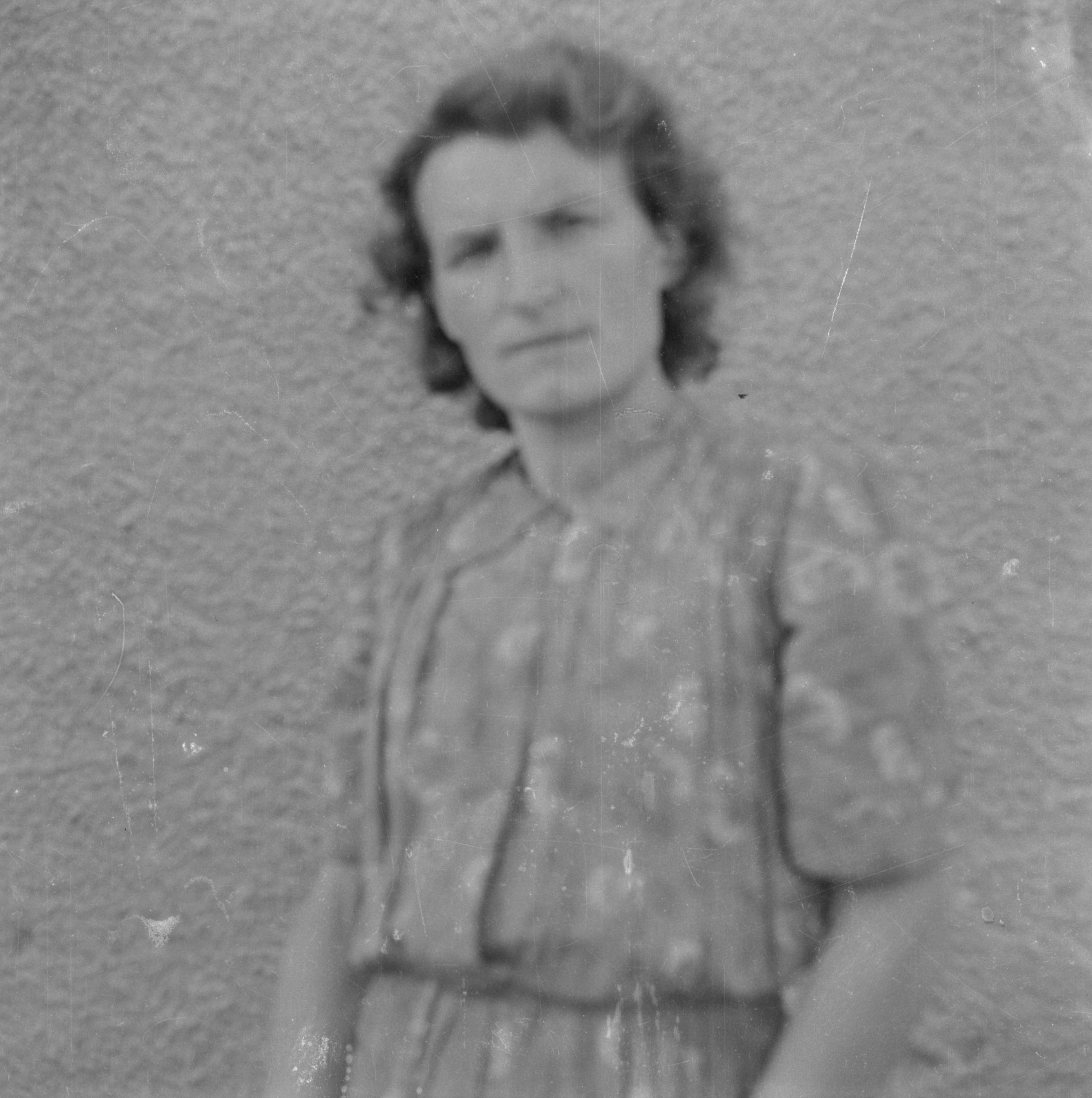 Portret kobiety, Dolny Śląsk, 2. poł. XX w.