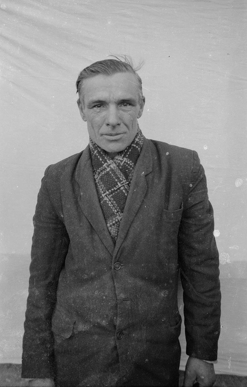 Bazyli Rabski sąsiad, Brzózka, Dolny Śląsk, koniec lat 50. XX w.