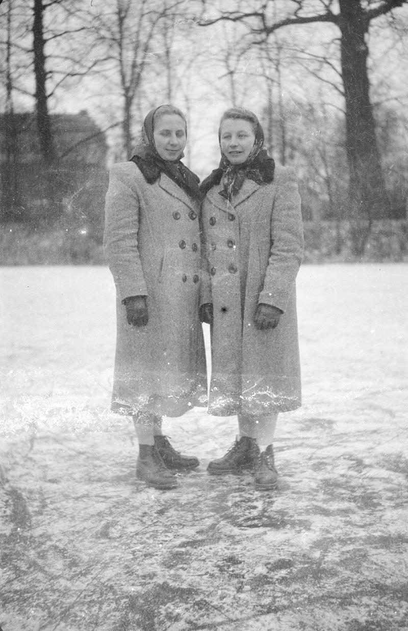Mieszkanki Stryjna, Dolny Śląsk, koniec lat 50. XX w.