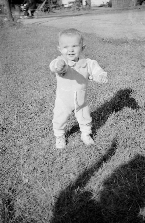 Zdjęcie dziecka, Dolny Śląsk, 2. poł. XX w.