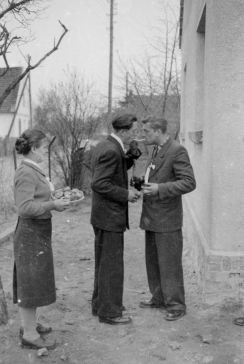 Odpalanie papierosa, Dolny Śląsk, 2. poł. XX w.