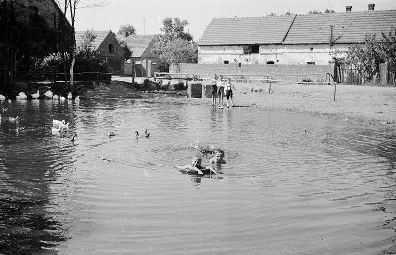 Dzieci nad wodą, Dolny Śląsk, 2. poł. XX w.