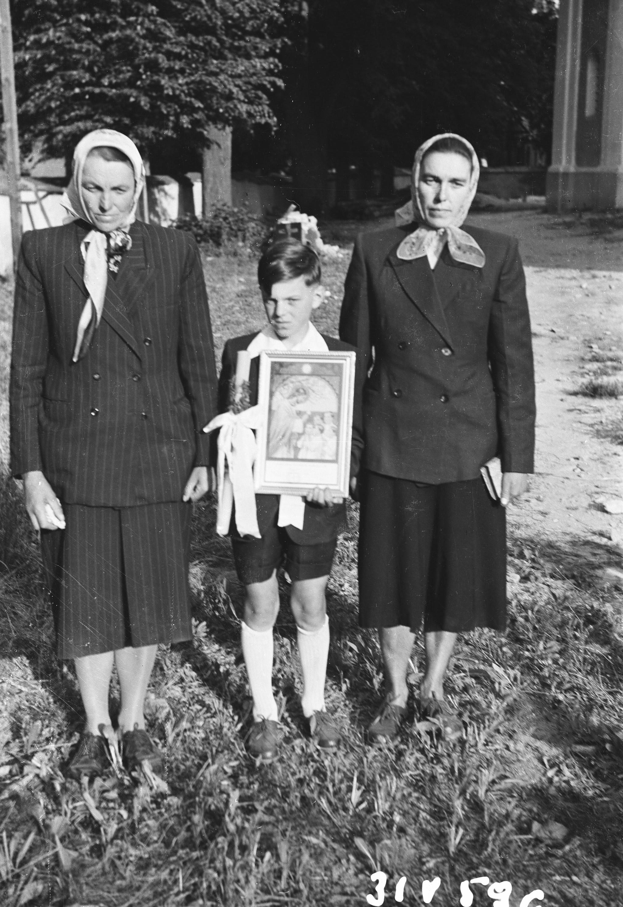 Pierwsza Komunia Święta, Dolny Śląsk, 31 V 1959 r.
