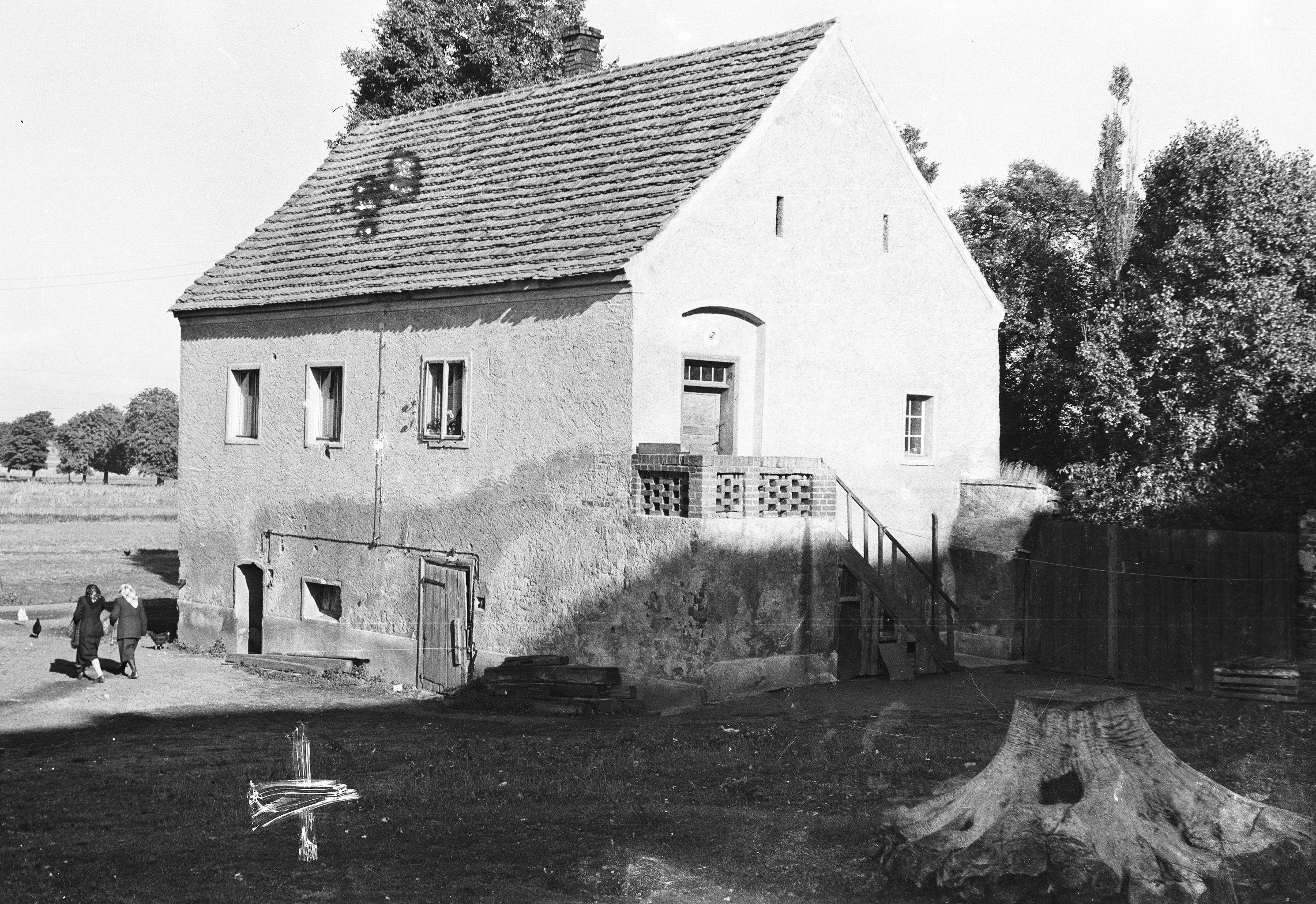 Plebania, Głębowice, Dolny Śląsk, lata 50. XX w.