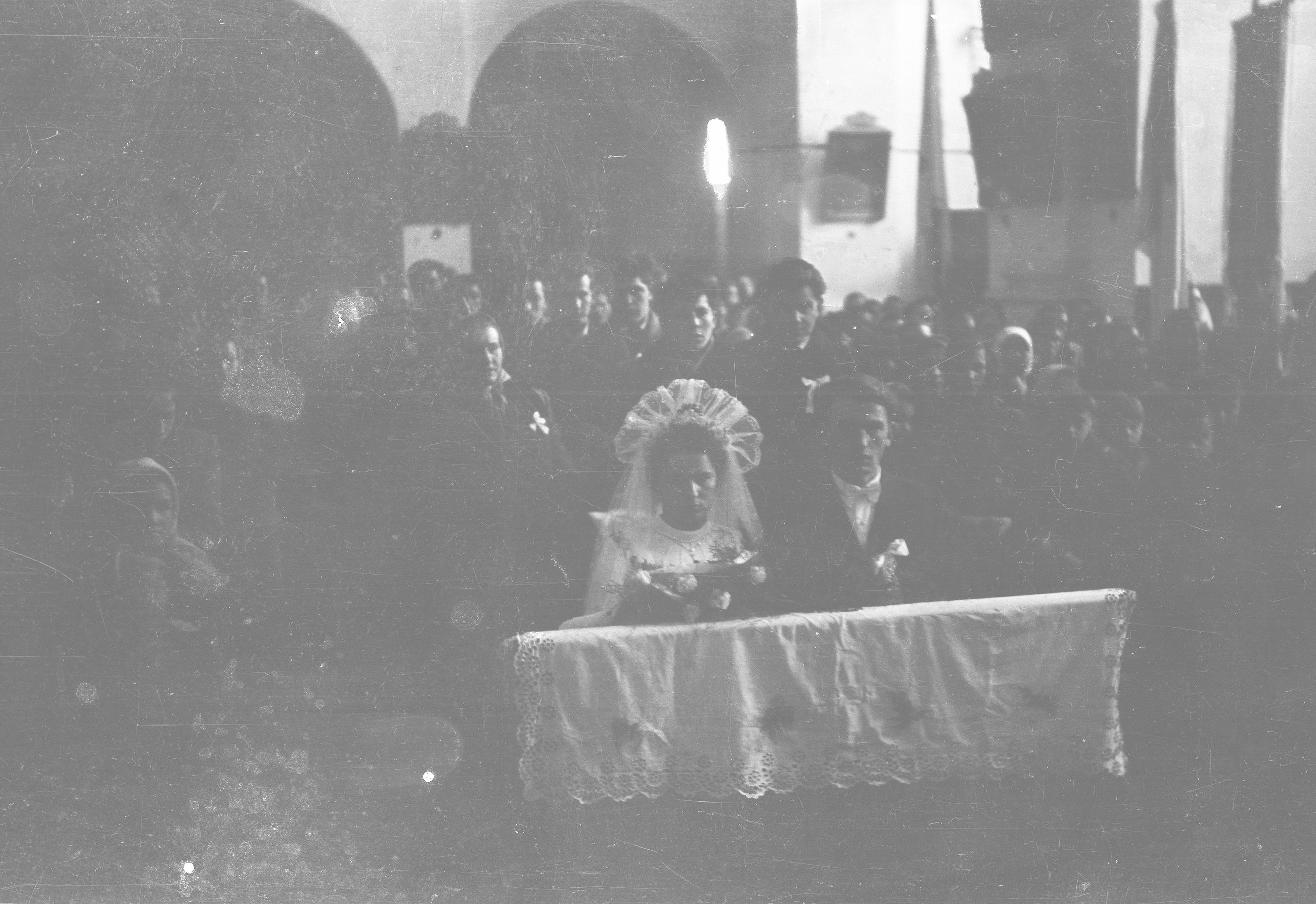 Ślub Jeziornego z Turzan, Dolny Śląsk, lata 50. XX w.