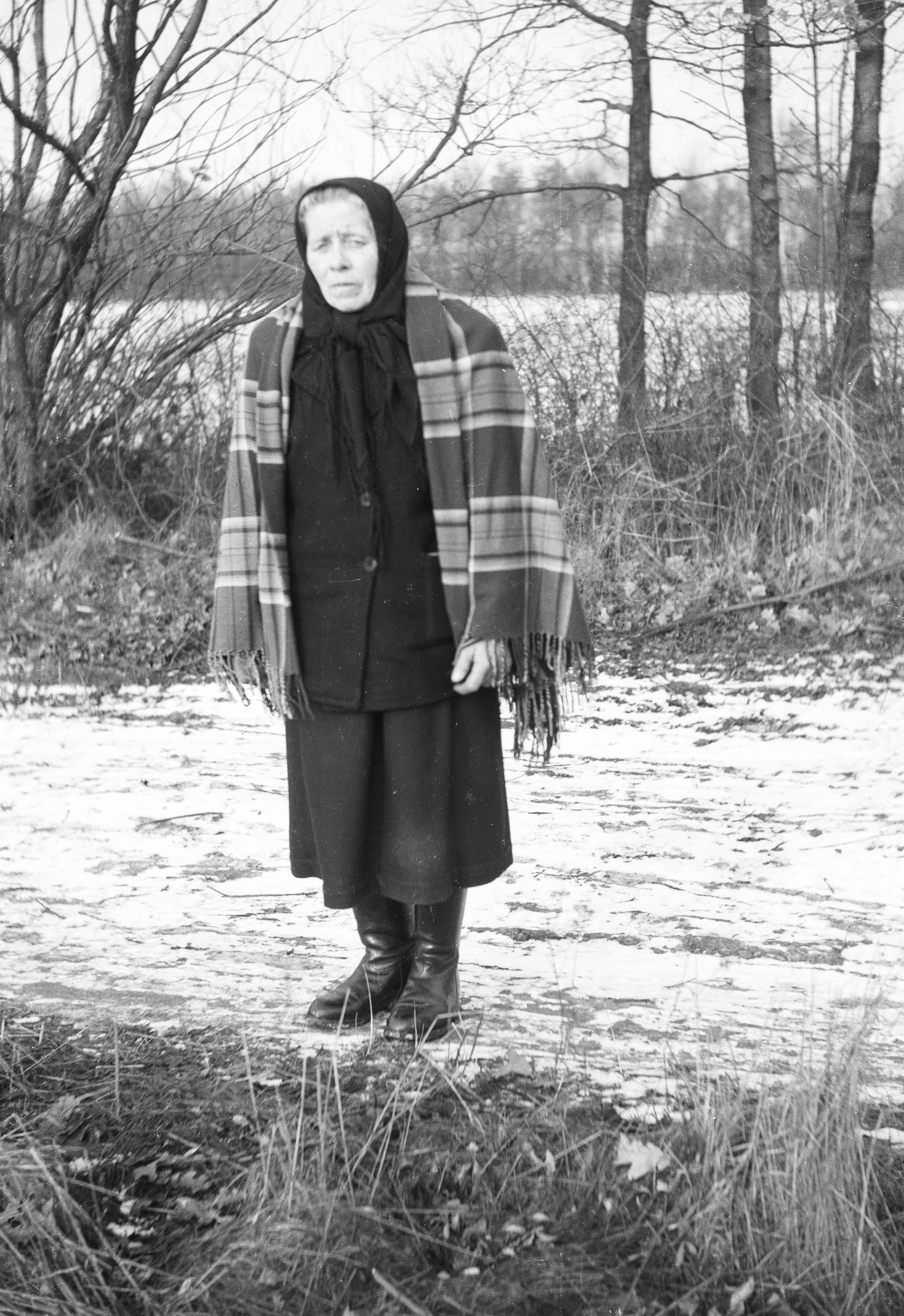 Rozalia Czyżowicz, Brzózka, Dolny Śląsk, lata 50. XX w.