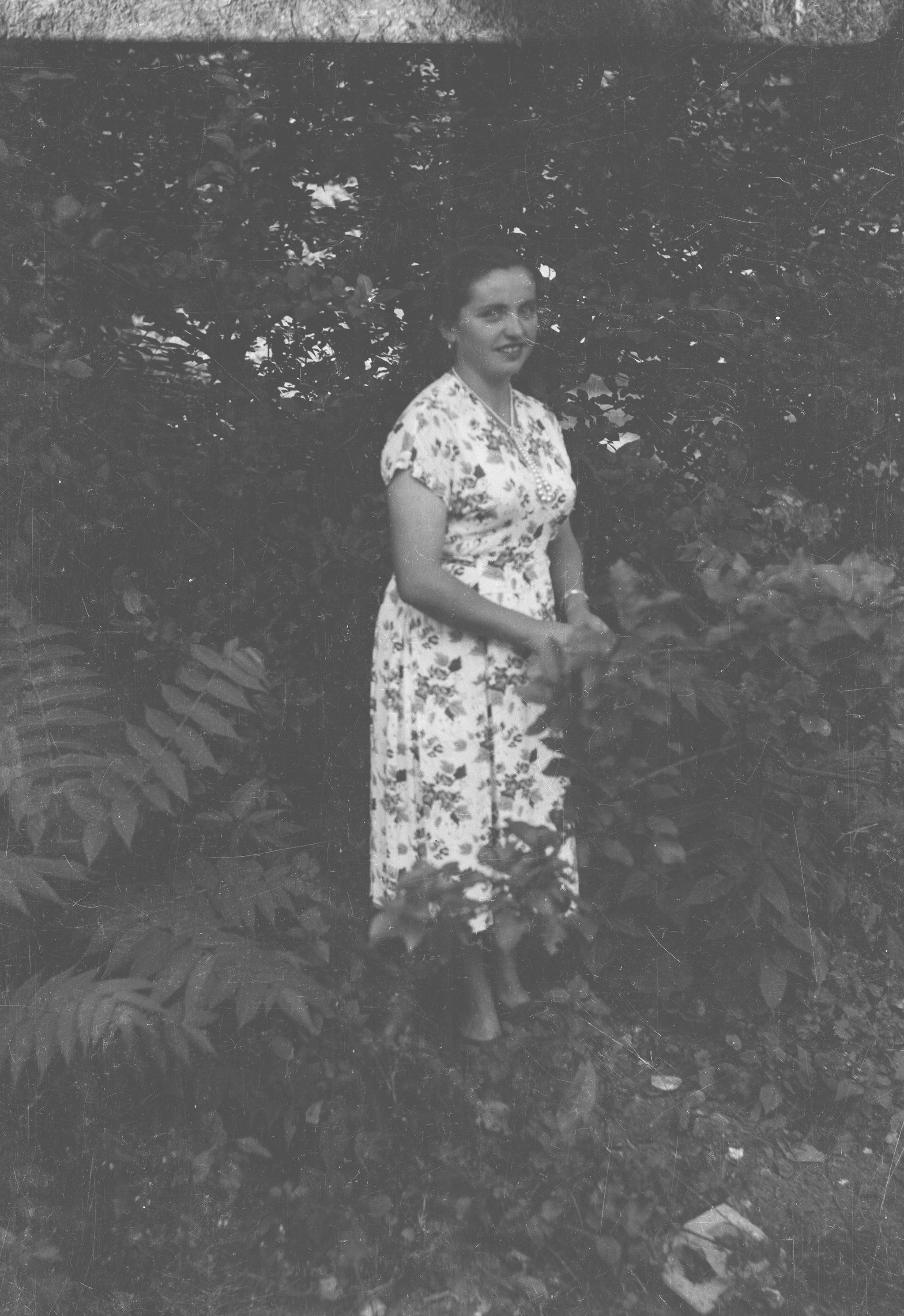 Janina Żurawel, Węglewo, Dolny Śląsk, lata 50. XX w.
