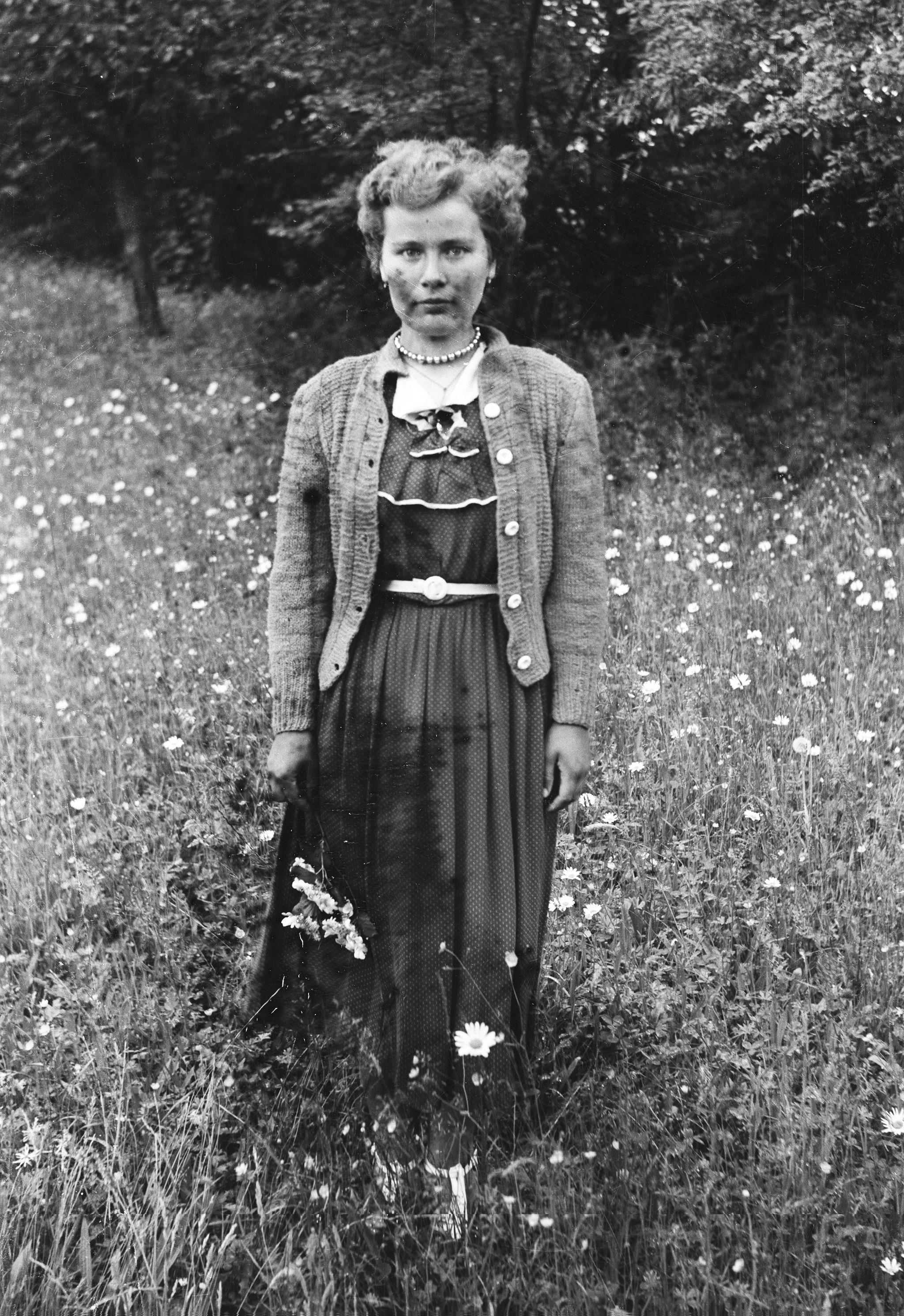 Hela Niemiec, Trzcinica Wołowska, Dolny Śląsk, lata 50. XX w.