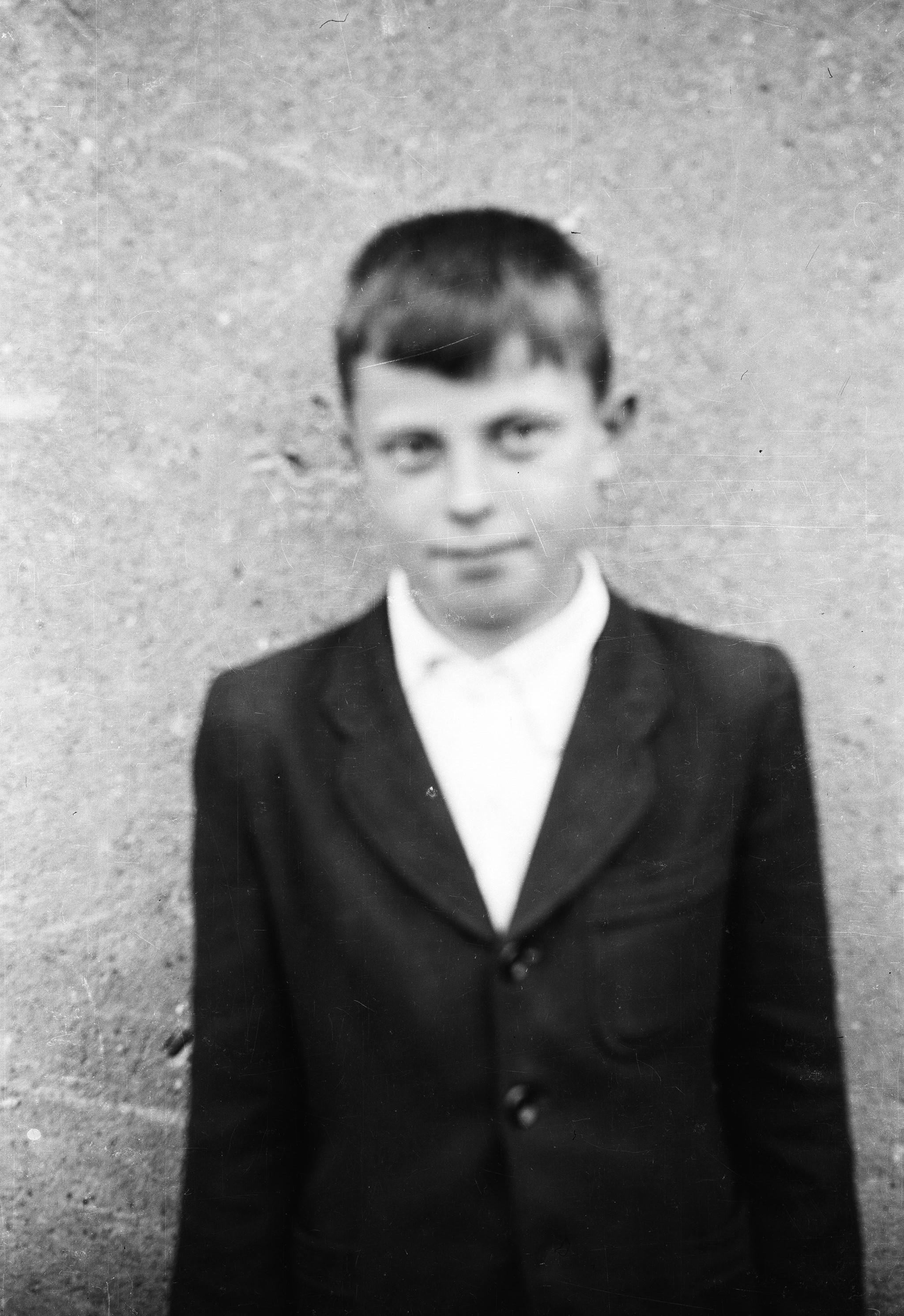 Portret chłopca, Dolny Śląsk, 2. poł. XX w.