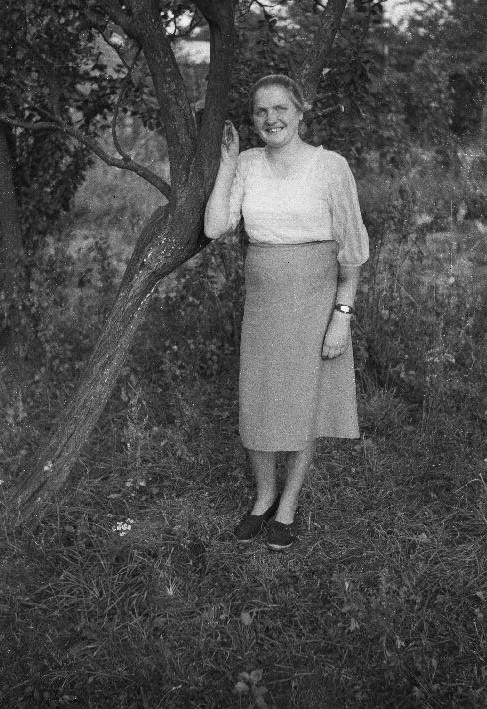 Halina Karwacka, Stryjno, Dolny Śląsk, lata 50. XX w.