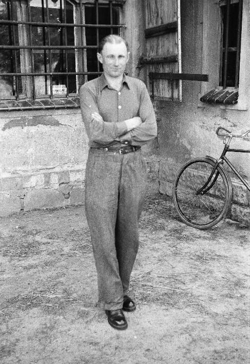 Sklepowy Jan Oksanicz, Rudawa, Dolny Śląsk, lata 50. XX w.