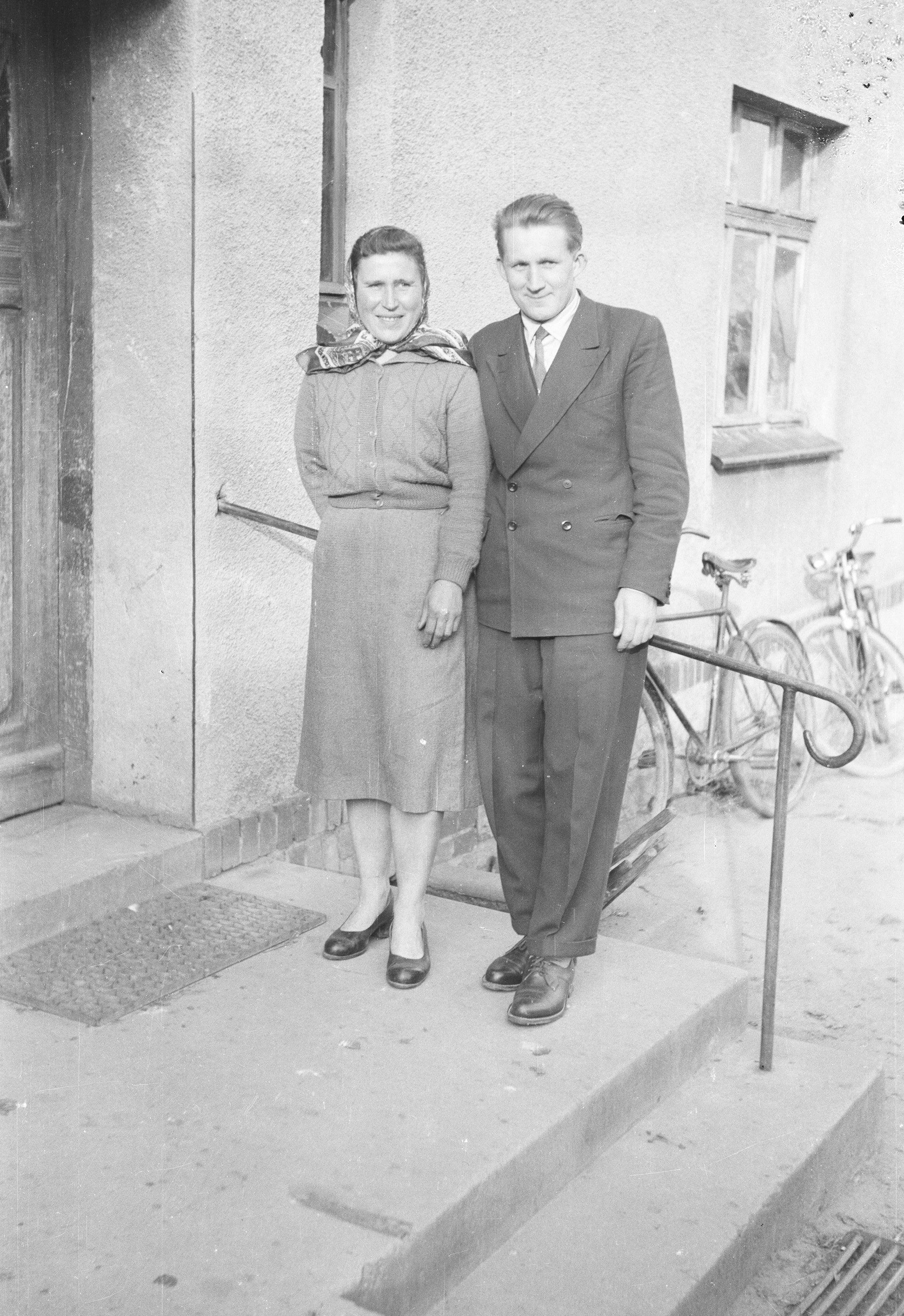 Maria Frańska i Józef Bieńko, Brzóżka, Dolny Śląsk, 2. poł. XX w.