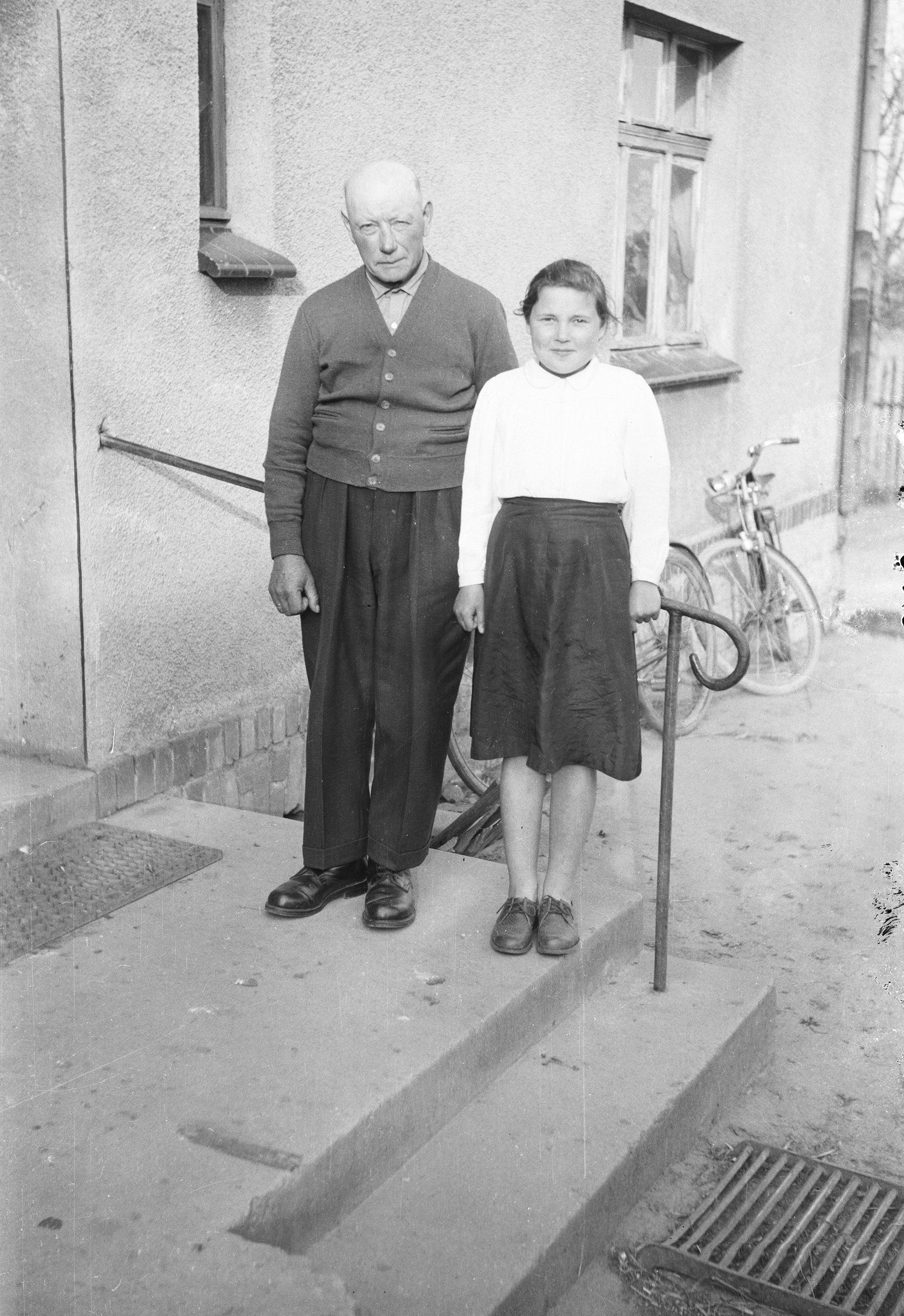 Rodzina Sybiraków, Brzózka, Dolny Śląsk, lata 50. XX w.