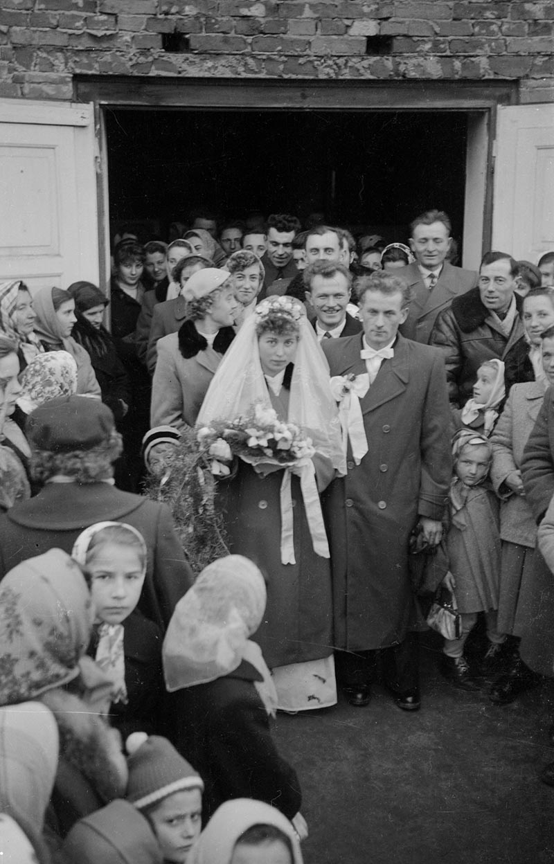 Wesele, Węglewo, Dolny Śląsk, koniec lat 50. XX w.
