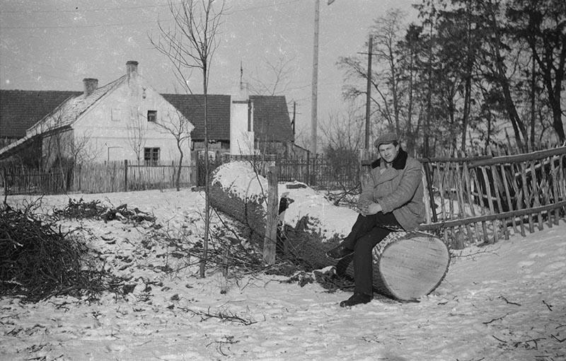 Augustyn Czyżowicz, Brzózka, Dolny Śląsk, koniec lat 50. XX w.