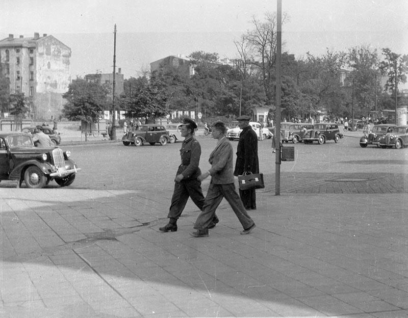 Wrocław, Dolny Śląsk, koniec lat 50. XX w.