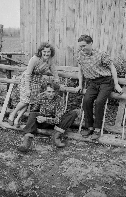 Zdjęcie przy drabinach, Dolny Śląsk, 2. poł. XX w.