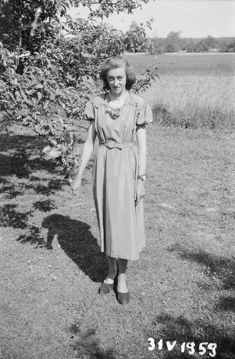 Zdjęcie kobiety, Dolny Śląsk, 31.05.1959 r.