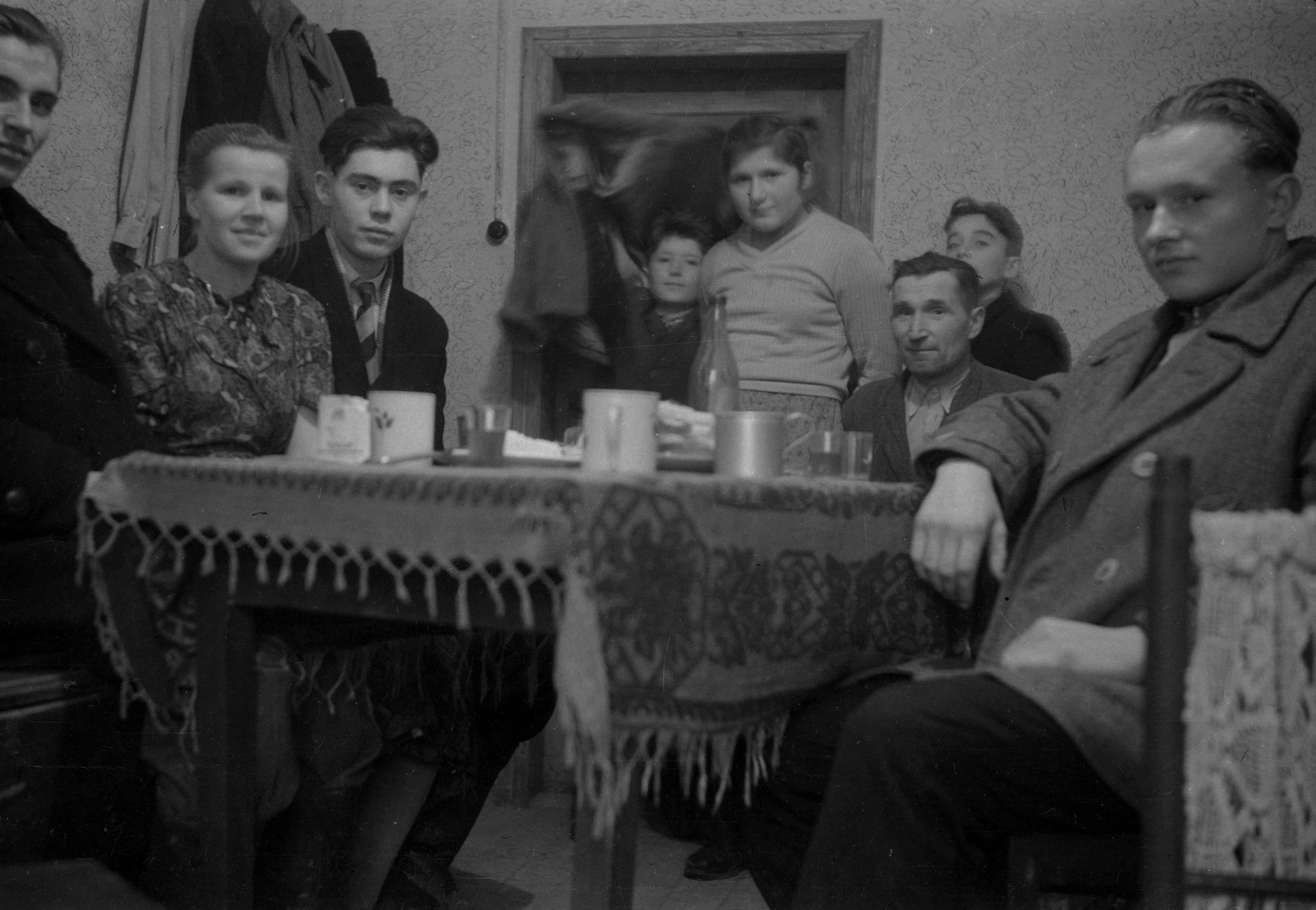 Popołudnie przy stole, Dolny Śląsk, 2. poł. XX w.