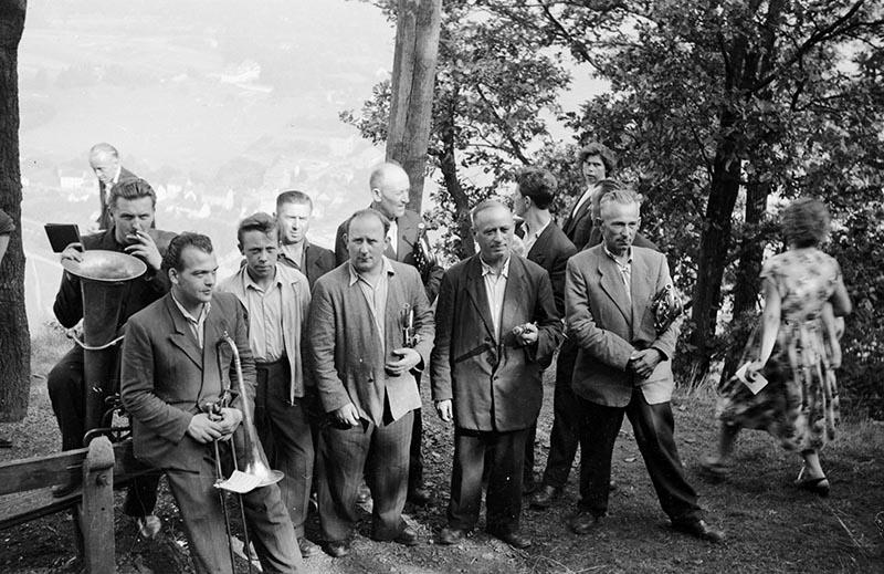 Orkiestra w przerwie, Dolny Śląsk, 2. poł. XX w.