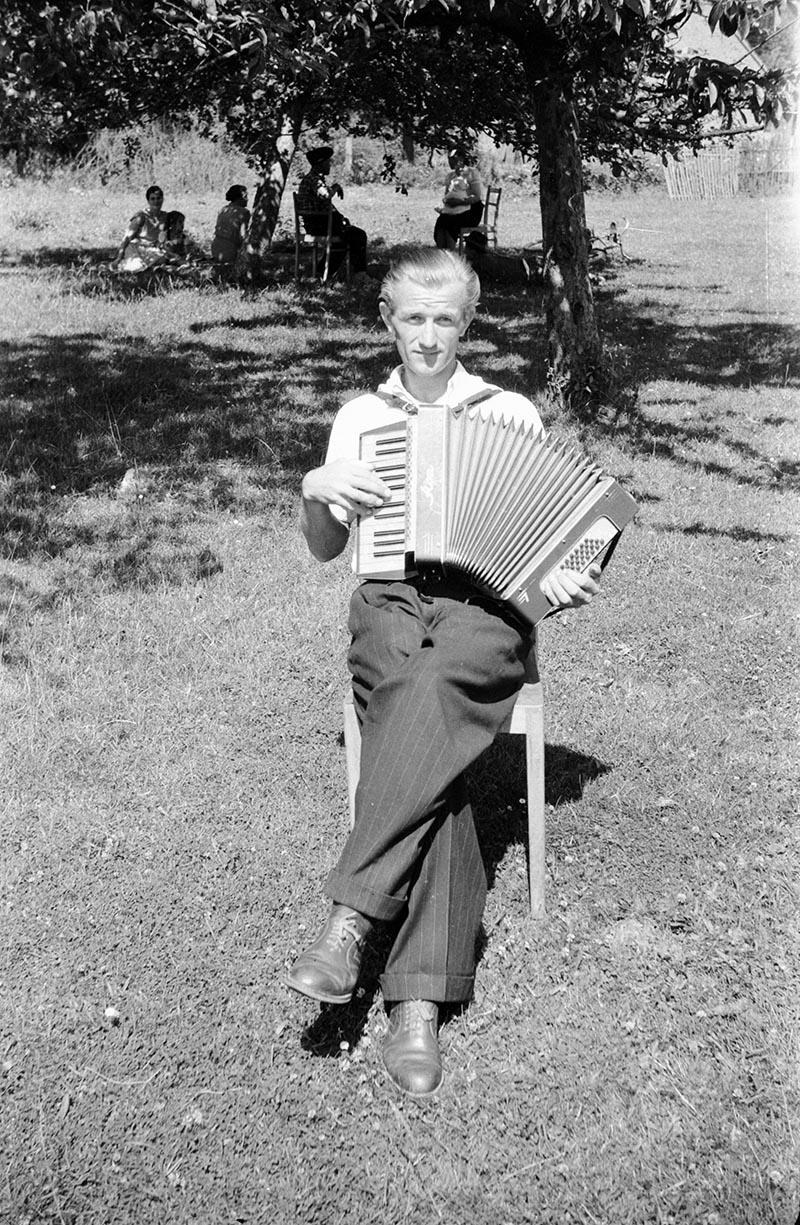 Akordeonista, Dolny Śląsk, 2. poł. XX w.