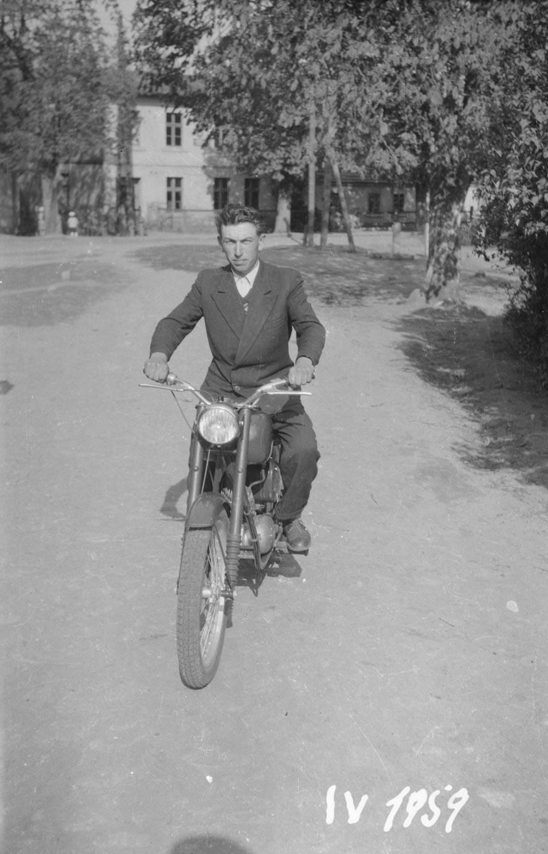 Motorzysta, Dolny Śląsk, 2. poł. XX w.