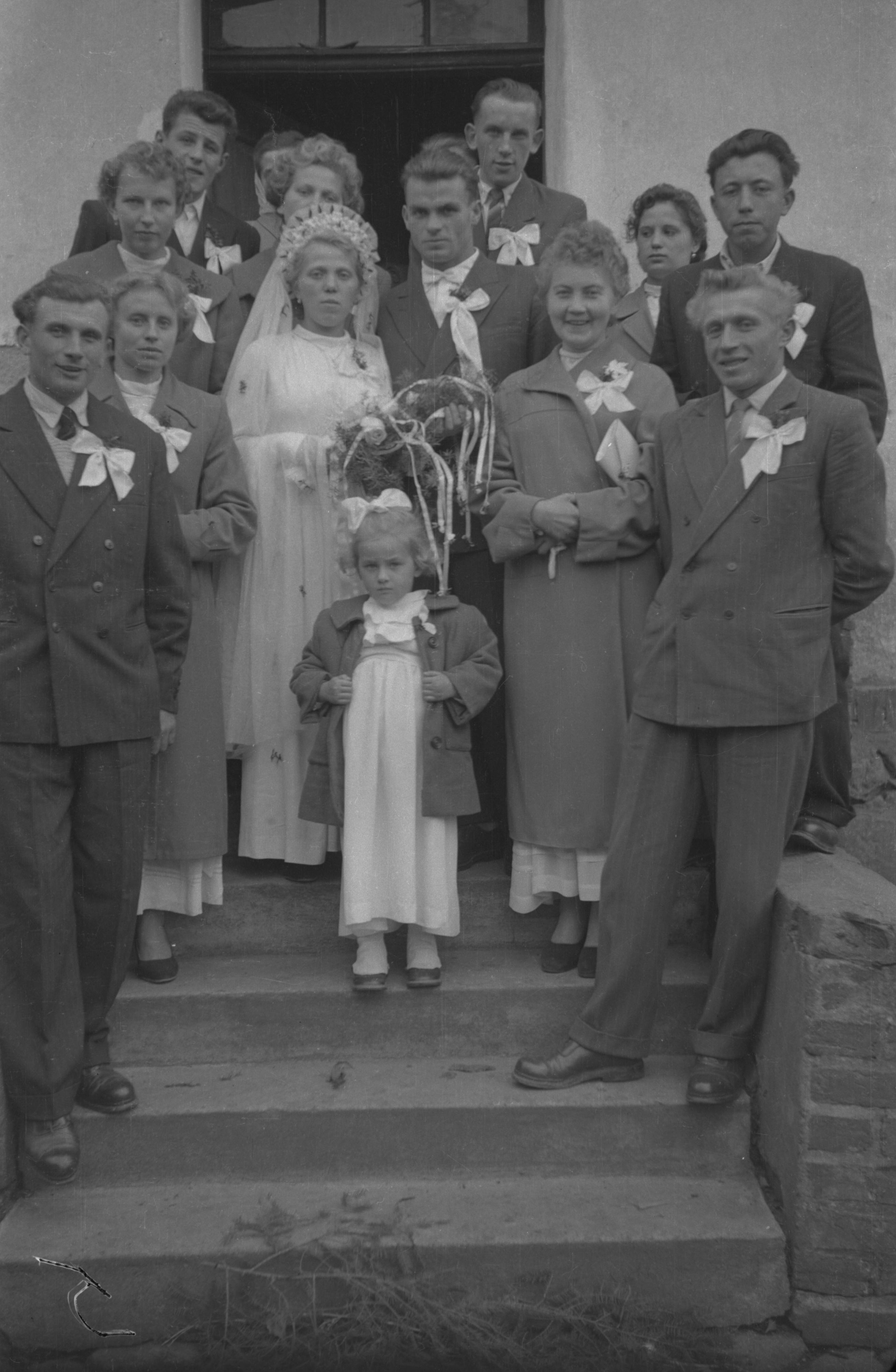 Ślub Marii Szmigiero i Bronisława Janczaka, Dolny Śląsk, 2. poł. XX w.