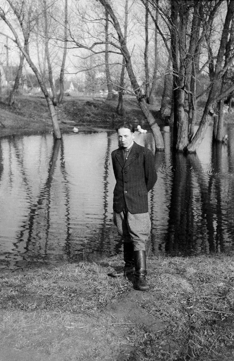 Portret nad wodą, Dolny Śląsk, 2. poł. XX w.